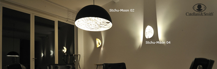 catellani smith stchu moon lights lamps at. Black Bedroom Furniture Sets. Home Design Ideas