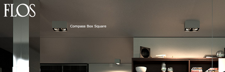 flos compass box lights lamps at. Black Bedroom Furniture Sets. Home Design Ideas